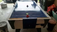 blue and white air hockey table Temple, 76502