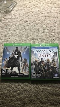 Xbox one games/ mint condition/ only played each one once  Bristol, 37620