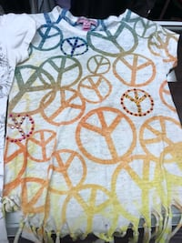 white and yellow floral textile