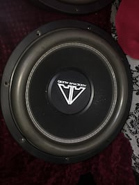 black Addictive Audio coaxial speaker