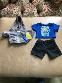 Build a Bear Outfit and Jacket. Never used! Newark, 19702