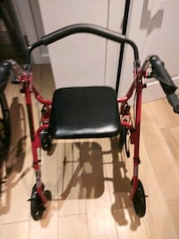 black and red rollator walker New York, 10019