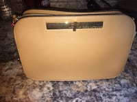 white and brown leather crossbody bag Laredo, 78041