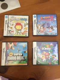 DS games for sale - please read Barrie, L4N 4Z8