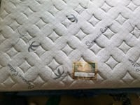 gray and black leather quilted bag Los Angeles, 91367