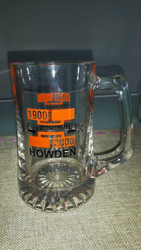 Set of 4 beer mugs. Good condition  bbd42dd6-48ec-43fd-bc63-591af92fd072