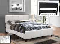 CONTEMPORARY UPHOLSTERED BED  541 km