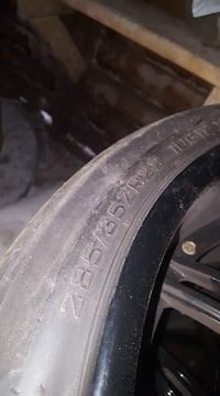Tire and rims 22 in.   Toronto, M5V 3W2