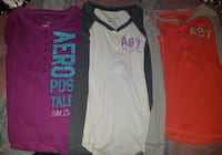 3 Brand New Aeropostale Shirts sizes XS Winnipeg