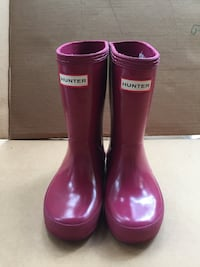 Hunter girl's rainboots size 7 shoes Virginia Beach