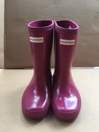 Hunter girl's rainboots size 7 shoes