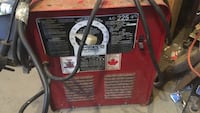 red and black Lincoln Electric welding machine Newmarket, L3X 1S9