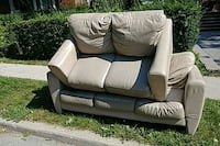Curb alert Leather Sofa & Love seat Toronto, M1R 4B2