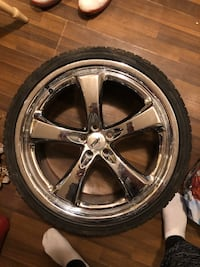 "TSW 19"" rims and tires Surrey"
