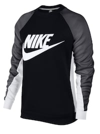 Nike Women's Graphic Crew Neck Sweatshirt