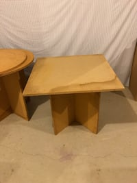 3 piece wooden tables $15 each. Southport, 06890