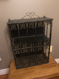 SOLID WROUGHT IRON DECORATIVE SHELF North Dumfries, N0B