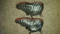 pair of black-and-brown Nike Foamposite Alexandria, 22306