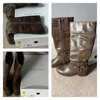 Girls knee high boots size 1