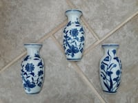 3 porcelain hanging vases. Littleton, 80121