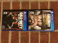 Call of Duty (WWII and BO3) Sony PS4 Games Canonsburg, 15055