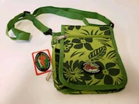 New Lime Green Floral Travel Bag/Purse from Hawaii Santa Rosa, 95404