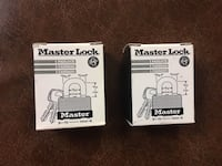 MASTER LOCK SET OF 2 PADLOCKS NEW New York, 11225