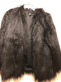 H&M Faux Fur Jacket Washington, 20024