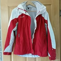 red and white zip-up jacket Cedar Rapids, 52402