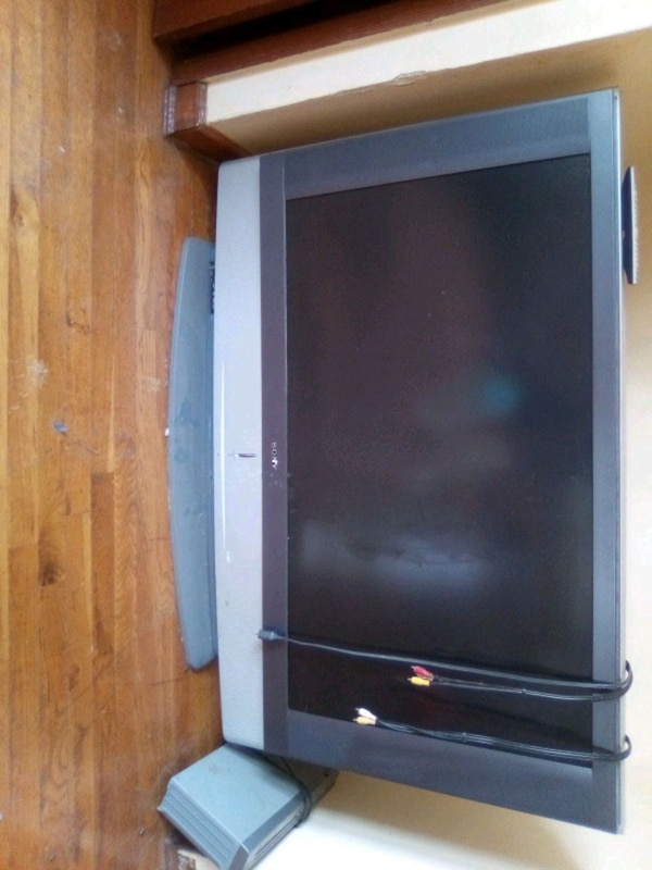 65 in sony tv with vcr DVD player