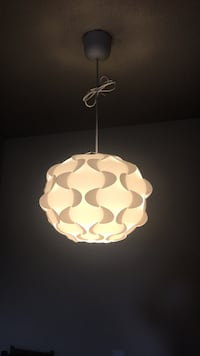 white and brown pendant lamp New Westminster, V3M