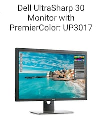 "MONITOR 30"" ""NEW"" DELL  Schaumburg"