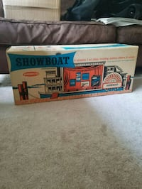 Vintage 1962 Remco Showboat Theater (original box) Lawrence Township, 08648