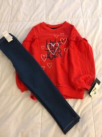 NEW with tags Tommy Hilfiger Girls Outfit