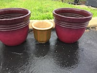 2 Large rub pots and clay pot Saint Augustine, 32086