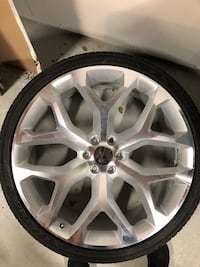 26 inch replicas wheels and tires | Great Condition | Melrose Park, 60160