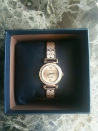 rose gold coach watch brand new never worn Wappingers Falls, 12590