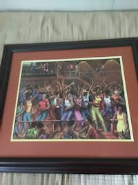 brown wooden framed painting of assorted color of people Fort Washington, 20744