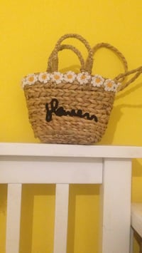 brown and black knitted handbag Wirral, CH49 7LG