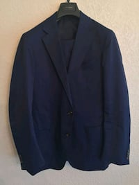 Spier & Mackay Navy Cotton Suit (42R)
