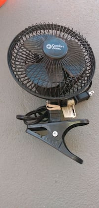 Electric Comfort Zone clip on portable fan