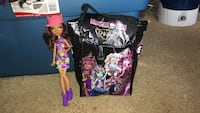 Monster high doll and bag Mississippi Mills, K0A 1A0
