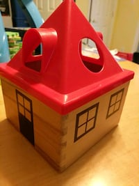 IKEA house shape sorter for pick up Arlington, 22207