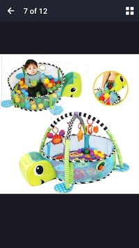 baby's multicolored activity gym Toronto, M9C 1E8