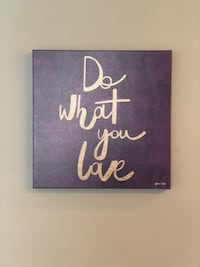 """Oliver Gal Do What You Love canvas 20""""x20"""" Warwick, 18974"""