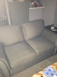 Gray fabric 2-seat sofa Dallas, 75216