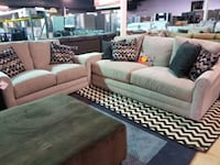 Couch and love seat set with accent pillows  Pineville, 28134