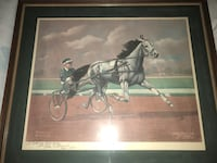 Two Allen F Brewer Jr. Horse pieces  Madison
