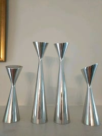 Nambe silver candlesticks McLean, 22102