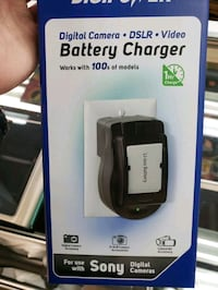 DigiPower QC-500S Battery Charger for SONY Digital Cameras, DSLR Toronto